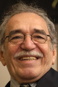 Photograph of Gabriel Garcia Marquez