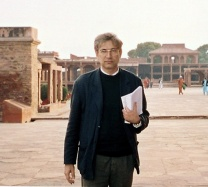 Photograph of Orhan Pamuk