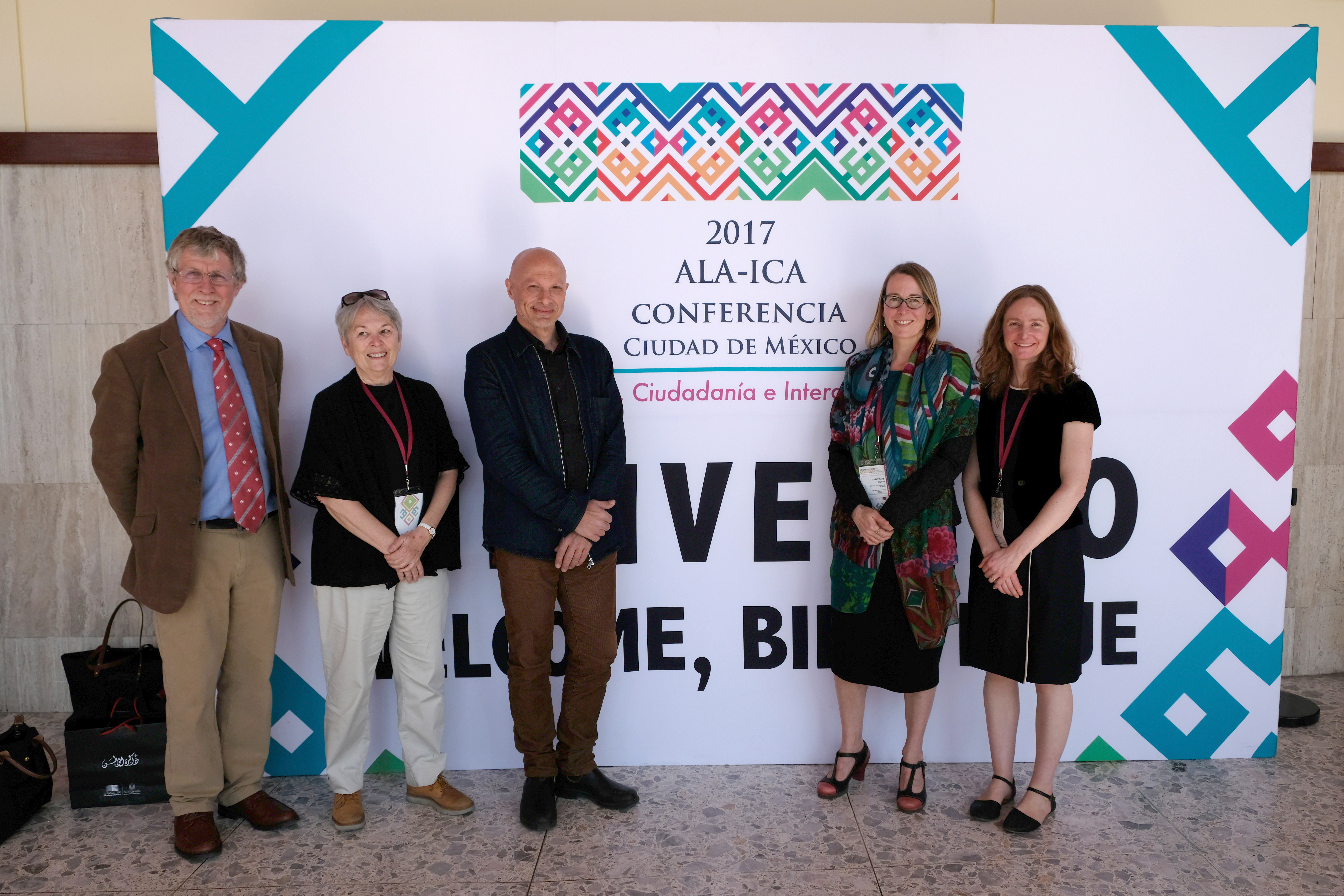 Members of Section for Literary and Artistic Archives at Mexico City Conference 2017